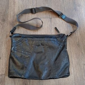 Hobo international patent leather crossbody bag